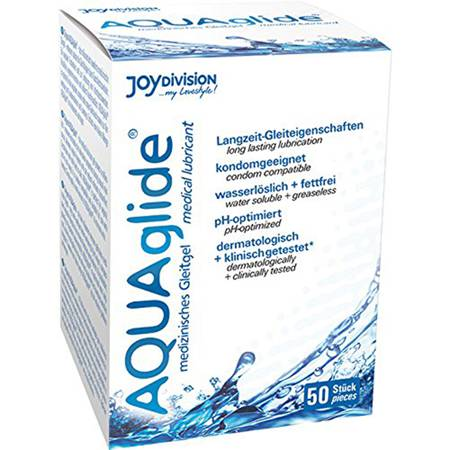AQUAglide Water-based Lubricant - 50 sachets