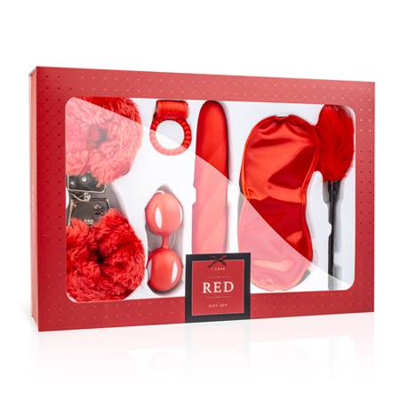 LoveBoxxx - I Love Red Couples Box