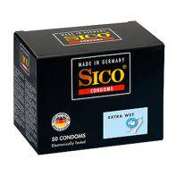Sico Extra Wet - 50 Condoms