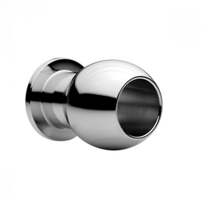 Large Abyss - Steel Hollow Anal Plug