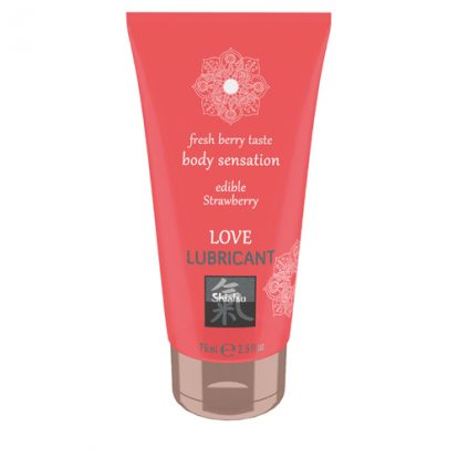 Love Lubricant edible - Strawberry