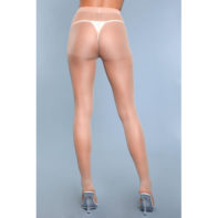 Skin To Skin High-Waist Pantyhose - Beige-2