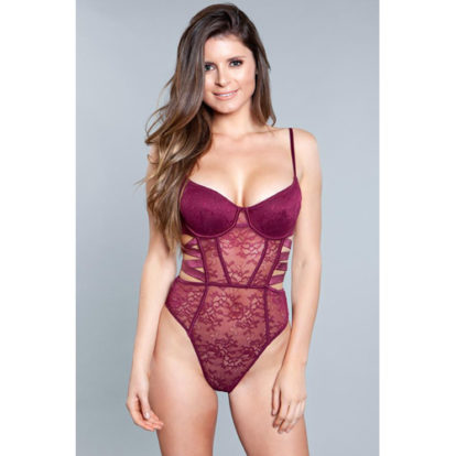 Katiya Teddy - Burgundy