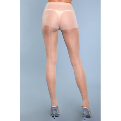 Walk Right Out Pantyhose With Backseam - Nude