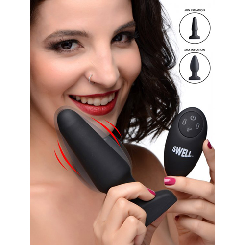 Inflatable And Vibrating Anal Plug-4