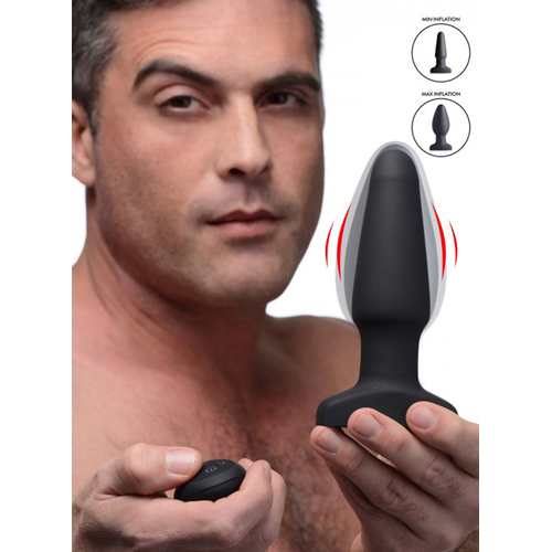 Inflatable And Vibrating Anal Plug-5