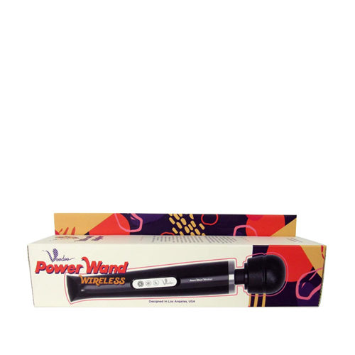 Rechargeable Power Wand - Black-2