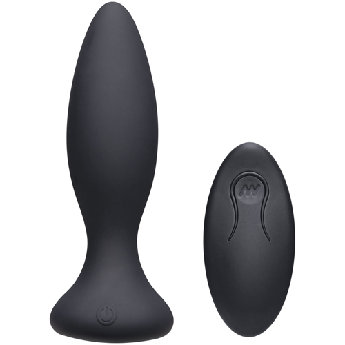 Vibe Beginner Vibrating Butt Plug - Black