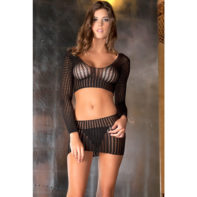 Crochet-net bodystocking-Rene Rofe